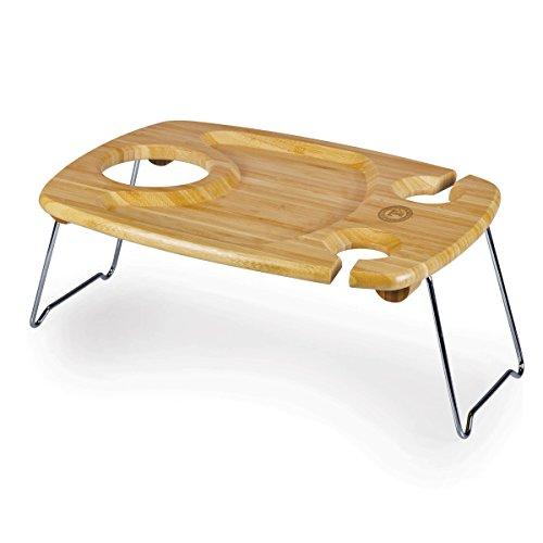 Mlb Texas Rangers Table (MLB Texas Rangers Mesavino Portable Wine and Snack Table)