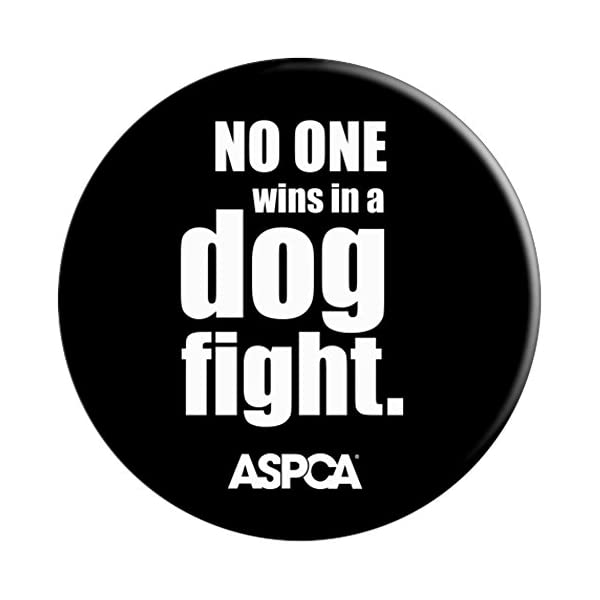 ASPCA No One Wins in a Dog Fight Popsocket - Black 3