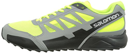 black pewter Men Aero City Cross fluoyellow Salomon YwZ0qgq
