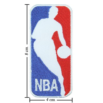 Basketball Applique (NBA Basketball Style-1 Embroidered Iron On Patch)