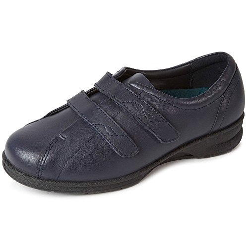 Padders Women's Kerry Closed-Toe Heels Navy cfiSlsoycR