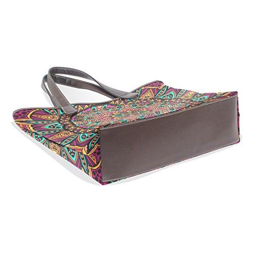 Multicolore porter à l'épaule Sac pour à femme TIZORAX Bwvx1qU8Sv
