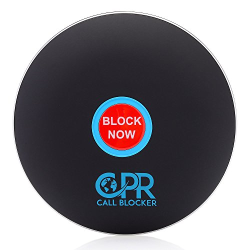 CPR Call Blocker Shield 1500 Number Capacity 2000 Nuisance and Scam Numbers Pre-Loaded Block Telemarketer Calls - Political Calls - Election Calls Block Robo Calls Now - Matt Black