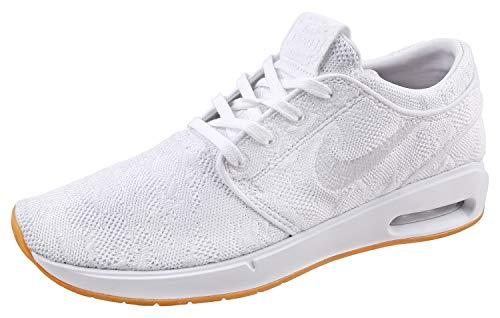 Nike Men's SB Air Max Janoski 2 Skateboarding Shoes White/Gum Yellow/White 9 D(M) US ()