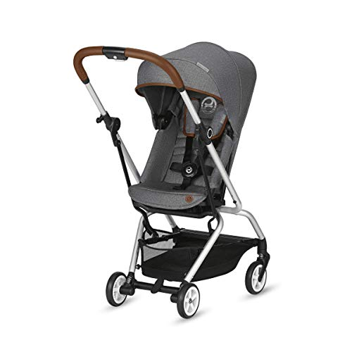 (CYBEX Eezy S Twist Stroller Denim Collection, Manhattan)