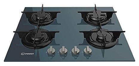 Indesit PR 642/I(GR) Piano cottura a gas da 60 cm; 4 fuochi a gas ...