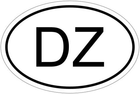 Kiwistar Algerien Dz 15 X 10 Cm Autoaufkleber Sticker Aufkleber Kfz Flagge Auto