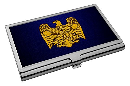 (Business Card Holder - US National Guard Bureau, branch insignia)