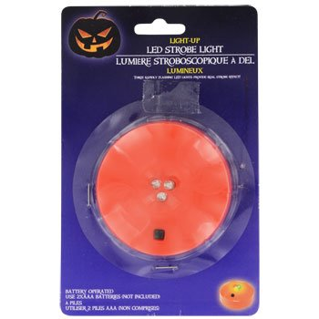 LED Strobe Light Toddlers Kids Jack O Lantern Scary Spooky Creepy Turkey Harvest Halloween Party Indoor Outdoor Decoration Decorations Decor Haunted House Pumpkin by nknown