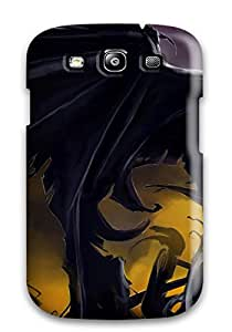 Flexible Tpu Back Case Cover For Galaxy S3 - Batman And His Cape
