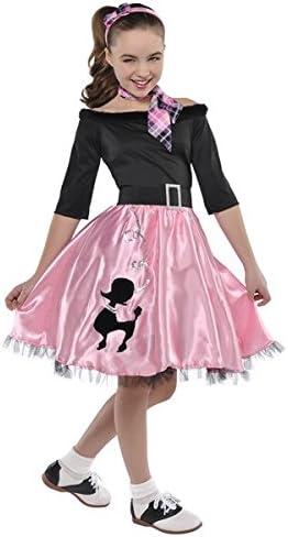 1950/'s Poodle Skirt Sock Hop Adult Costume