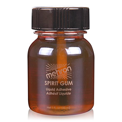 Mehron 118 Spirit Gum Liquid Adhesive (Available in Many Sizes) (1 oz) for $<!--$7.99-->