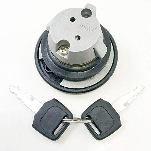 Gas Locking Cap New - eton 813273 814193 813804 815000 NEW LOCKING GAS CAP Fits All E-ton Scooters