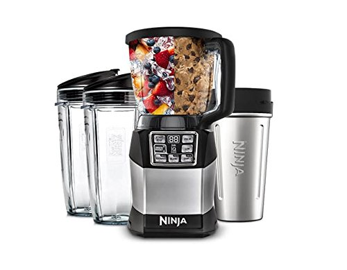 NINJA Auto IQ Compact Blending System 1200 Watts (Refurbished) by SharkNinja