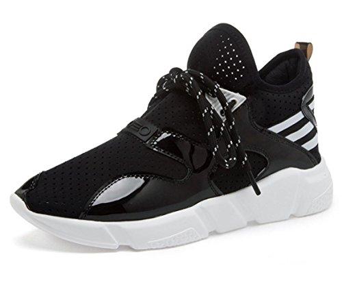 MEI I pattini delle donne di autunno di scarpe da corsa di sport scarpe casuali traspiranti leggero della maglia delle scarpe della bocca poco profonda