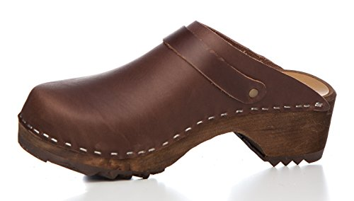 Leather Clogs Original Brown Sweden Fat wPTq5tZ