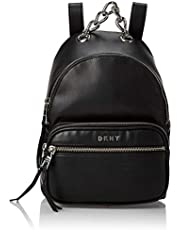 حقيبة ظهر نسائية من دي كيه ان واي، اسود (اسود/فضي) - R94KZF27