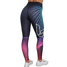 Women Print Yoga Pants Skull Sports Leggings Fitness Stretch Trouser