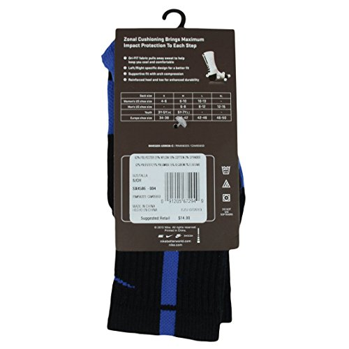 Elite Game Crew Royal Basketball S Hyper NIKE Chaussettes Game Black Royal wfgqK6ZRHO