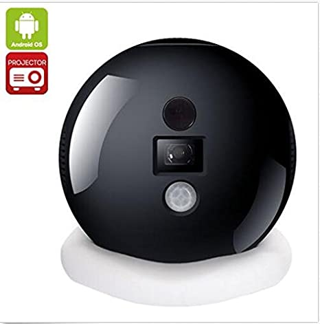 Amazon.com: Android4.4 2.4G/5G Wifi Mini DLP Proyector ...