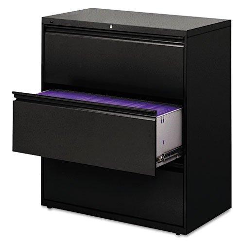 HON 883LP 800 Series Three-Drawer Lateral File, 36