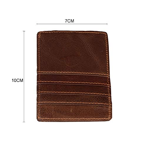 GzxtLTX Men Wallet PU Leather Credit Card Holder RFID Card Protector by GzxtLTX Bags (Image #3)