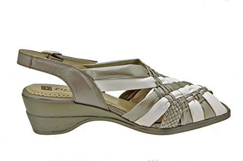 2562 speciale sandali scarpe PieSanto pelle larghezza Donna comfort xq7fgwBT