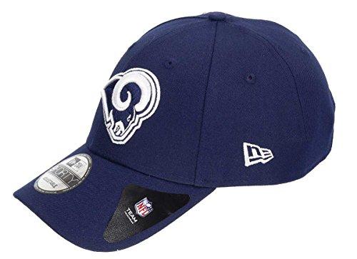 New Era Los Angeles Rams Navy The League Adjustable Hat/Cap