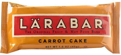 Larabar - Carrot Cake, The Original Fruit & Nut Food Bar, 1.6 oz bars (Pack 16)