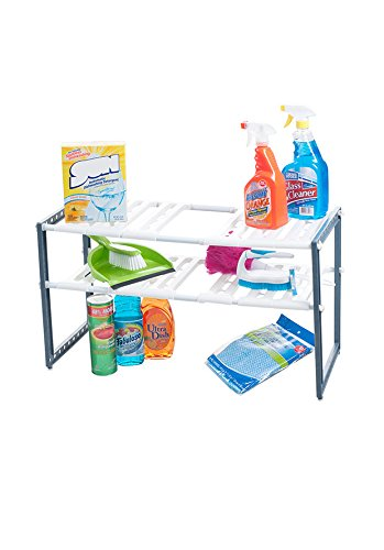 Stalwart Adjustable Under Shelf Organizer