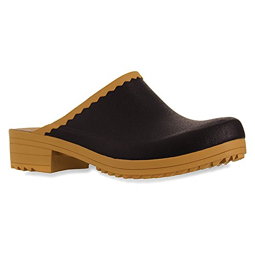Sanita Rubber Cats In Black Raining Clogs And qxF4qzS