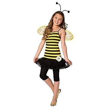 Disfraz de abeja para niña 3-5 años (110 cm): Amazon.es: Juguetes ...