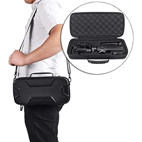 Hard Travel Case for Zhiyun Smooth 4 Handheld Gimbal Stabilizer,Tripod Stand Carry Bag Protective Box Handbag (for Zhiyun Smooth 4)