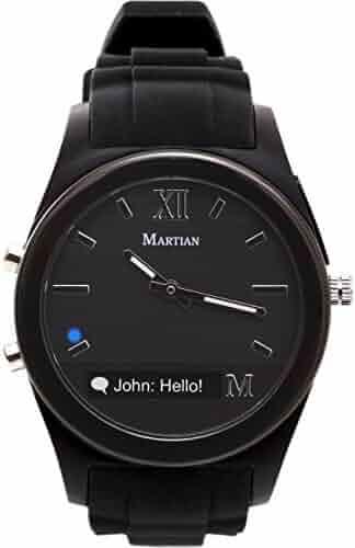 Martian Watches Notifier Smartwatch - Black