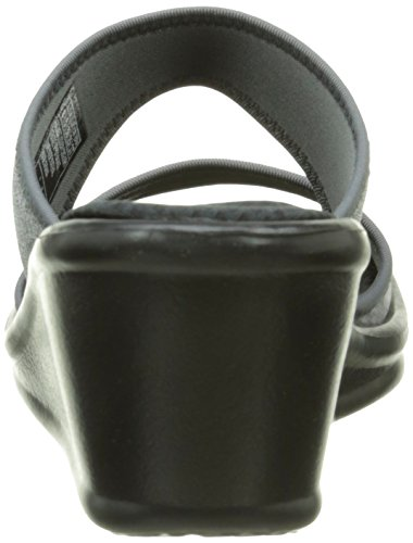 Grigio Donna Skechers Heathering grigio Sabot Heights Rumblers wIIHnUqXz