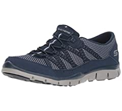 Sales promotion outlet on sale special discount of Skechers Womens 22823 Gratis - Strolling Black Size: 5 ...