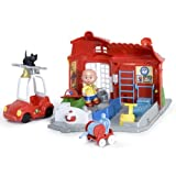 Caillou Fire Station Playset