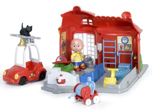 caillou-fire-station-playset