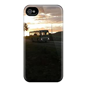 Perfect Onibus Na Rodovia Case Cover Skin For Iphone 4/4s Phone Case