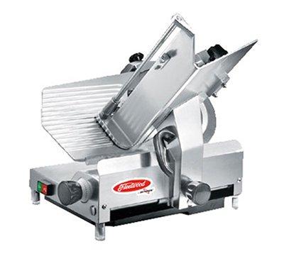 Full-Size Heavy Duty Slicer w/ Gravity Feed, Stainless blade