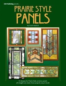 Prairie Style Panels - Pattern Glass Panel