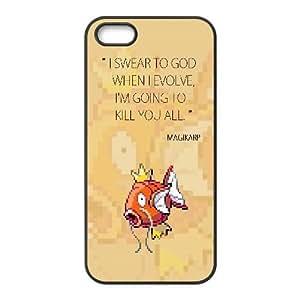 Magikarp When I Evolve iPhone 4 4s Cell Phone Case Black Delicate gift JIS_360623