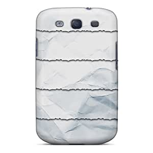 High Quality Torn Paper Shelves Case For Galaxy S3 / Perfect Case
