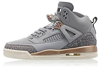 Amazon.com | Nike JORDAN SPIZIKE GG Boys fashion-sneakers 535712-018_3.5Y -  WOLF GREY/DARK GREY-MTLC RED BRONZE-SAIL | Sneakers