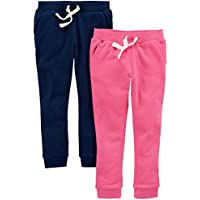 Carter's Girls' Big 2-Pack French Terry Jogger,