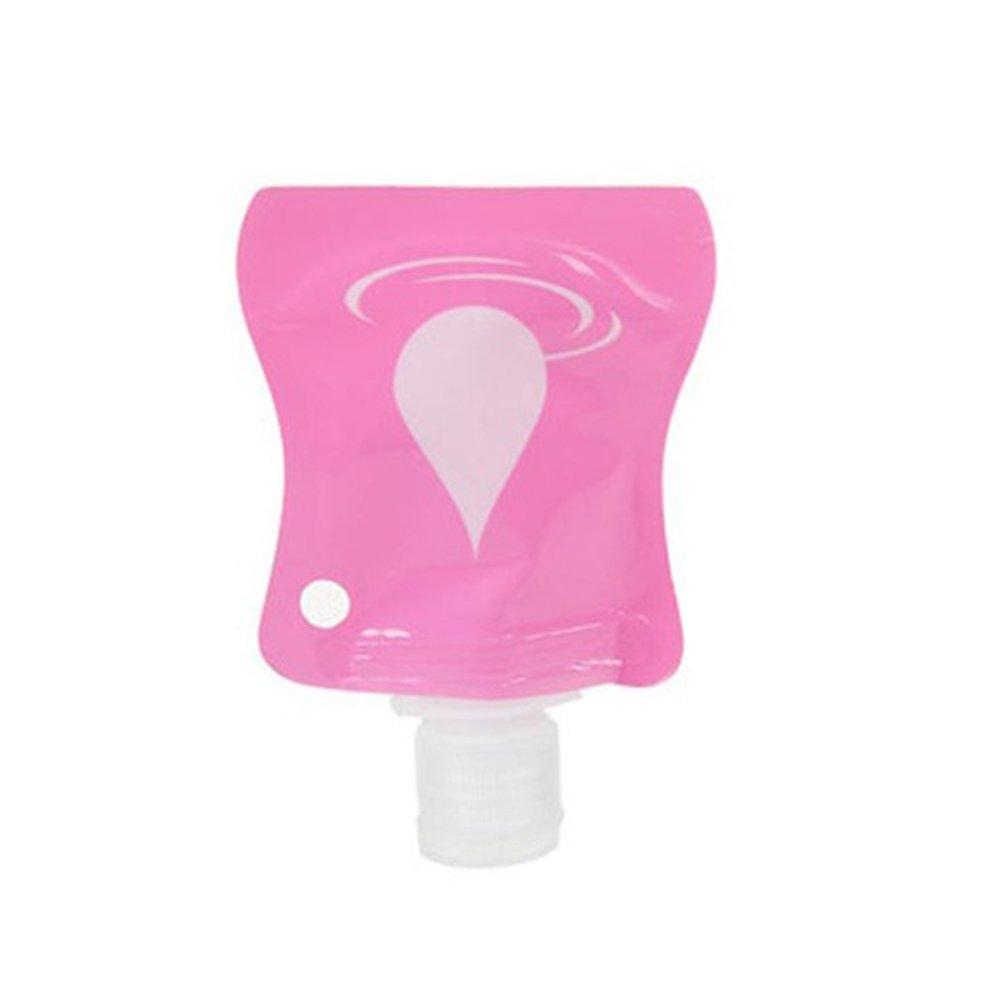 1PC Polymer Travel Bottle–Squeezable e portatile di immagazzinaggio per shampoo, protezione solare e articoli da toeletta etc BaconiXfF