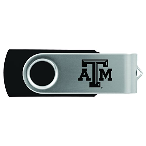 Texas A&M University -8GB 2.0 USB Flash Drive-Black