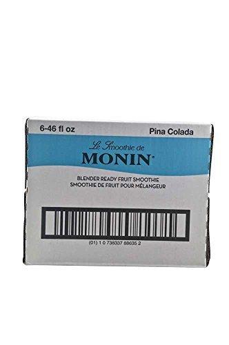 Monin Pina Colada Fruit Smoothie Mix, 46 Ounce -- 6 per case. by Monins