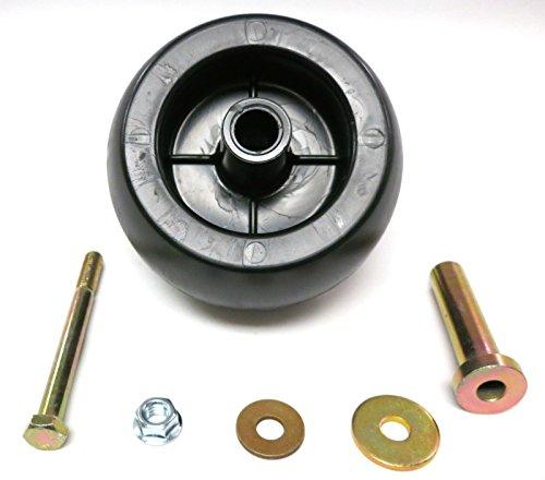 Deck Wheel / Roller Kit for Exmark Viking Lazer Z Toro Groundsmaster Zero Turn (Turn Rollers)