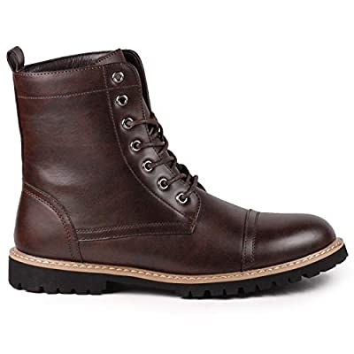 Metrocharm MC312 Men's Lace Up Cap Toe Fashion Oxford Boot | Oxford & Derby
